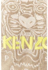 Szary szlafrok Kenzo z aplikacjami