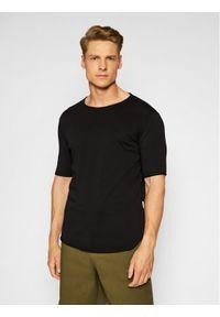 Imperial T-Shirt TB92BCLL Czarny Regular Fit. Kolor: czarny