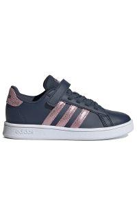 Sneakersy Adidas z aplikacjami, z cholewką, na rzepy