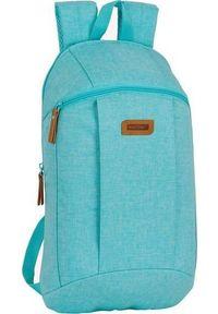 Niebieski plecak casualowy