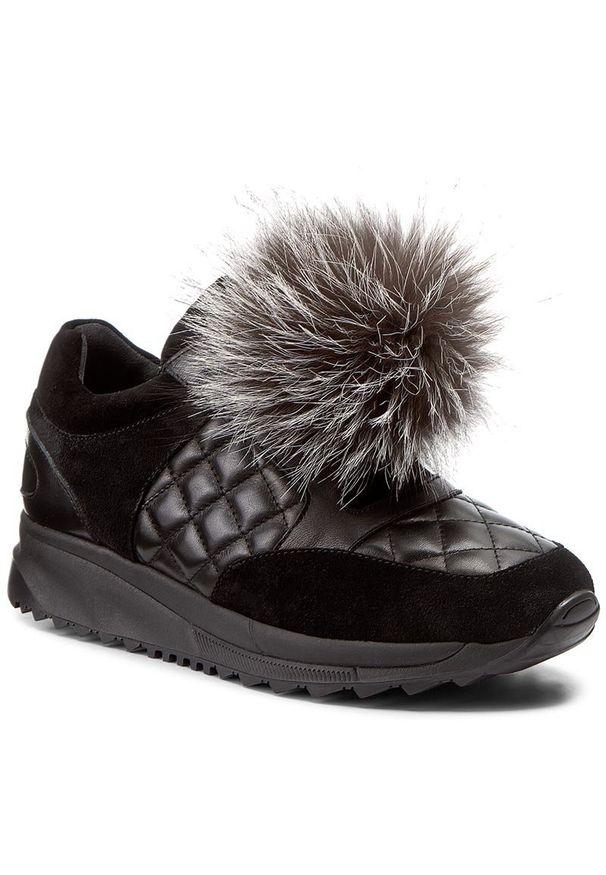 Czarne buty sportowe Marella