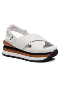 Białe sandały Gioseppo