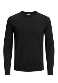 Czarny sweter klasyczny Jack & Jones
