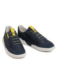 Geox Sneakersy U Smoother A U04AFA 08522 CF44M Granatowy. Kolor: niebieski