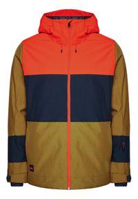 Quiksilver Kurtka snowboardowa Sycamore EQYTJ03286 Zielony Modern Fit. Kolor: zielony. Sport: snowboard #7