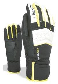 Level Rękawice narciarskie Pro Team Jr yellow. Sport: narciarstwo