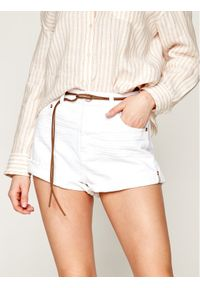 Białe szorty jeansowe One Teaspoon