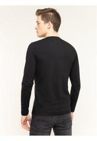 Czarna koszulka z długim rękawem TOMMY HILFIGER