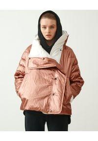 MMC STUDIO - Dwustronna kurtka Dale Light. Kolor: brązowy. Materiał: tkanina, guma. Wzór: aplikacja. Sezon: wiosna