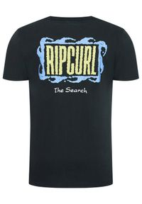 Rip Curl T-Shirt Mind Wave Logo CTERL9 Szary Relaxed Fit. Kolor: szary