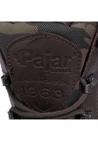 Brązowe buty zimowe Pajar casualowe, na co dzień, z cholewką