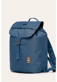 Niebieski plecak Lefrik w paski