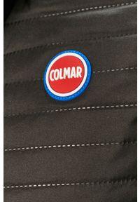 Czarna kamizelka Colmar casualowa, bez kaptura, na co dzień