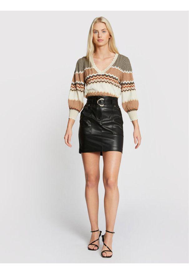Morgan Sweter 211-MCLARA Beżowy Regular Fit. Kolor: beżowy