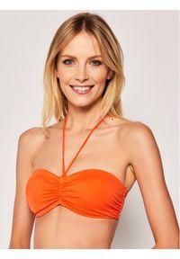 Pomarańczowe góra bikini Triumph