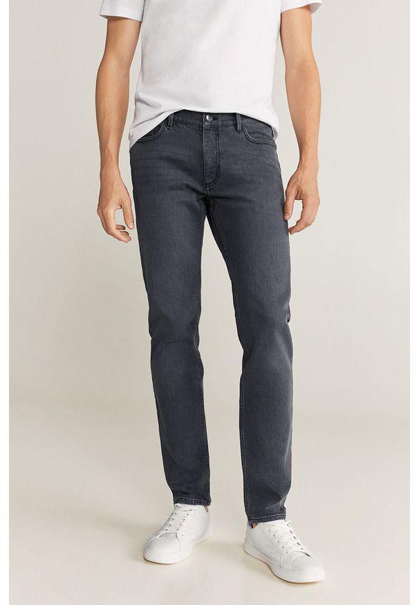 Szare jeansy Mango Man