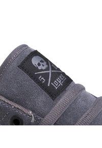 Szare sneakersy C1rca z cholewką, na co dzień