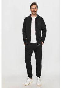 Czarna bluza rozpinana Trussardi Jeans na co dzień, z kapturem #5