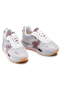 Colors Of California - Sneakersy COLORS OF CALIFORNIA - HC.RUNEVA01 Light Pink. Okazja: na co dzień. Kolor: srebrny, wielokolorowy, beżowy. Materiał: materiał. Szerokość cholewki: normalna. Wzór: aplikacja. Sezon: lato. Styl: casual