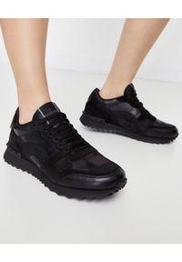 Czarne sneakersy VALENTINO z aplikacjami