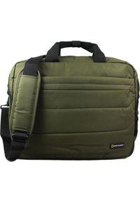 Brązowa torba na laptopa National Geographic