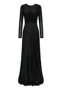 Czarna sukienka wieczorowa Elisabetta Franchi