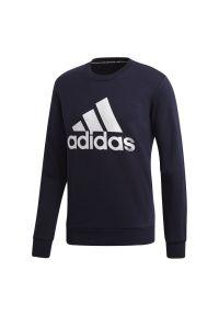 Bluza Adidas sportowa, z długim rękawem, długa