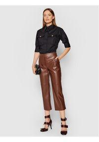 Elisabetta Franchi Koszula CA-283-16E2-V320 Czarny Regular Fit. Kolor: czarny