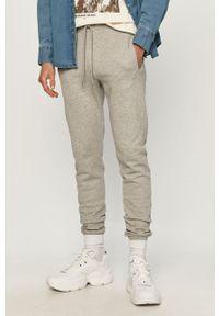 Trussardi Jeans - Spodnie. Okazja: na co dzień. Kolor: szary. Styl: casual