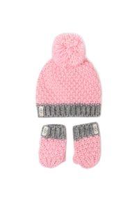 Różowa czapka zimowa Ugg