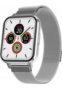 Smartwatch Bakeeley DT X Srebrny. Rodzaj zegarka: smartwatch. Kolor: srebrny
