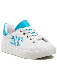 Białe półbuty Guess