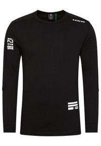 G-Star RAW - G-Star Raw Bluza Multi Logo Korpaz D18205-C336-6484 Czarny Regular Fit. Kolor: czarny