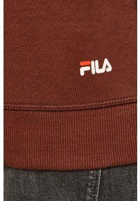 Fila - FILA - Bluza 681090. Okazja: na co dzień. Kolor: brązowy. Materiał: materiał. Styl: casual