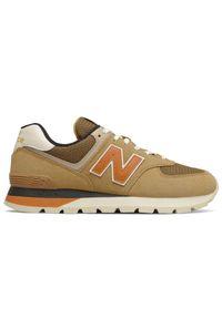 New Balance ML574DHG. Materiał: zamsz, materiał, syntetyk. Szerokość cholewki: normalna. Sezon: jesień. Model: New Balance 574