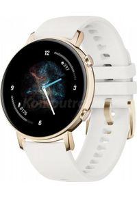 HUAWEI - Smartwatch Huawei Watch GT 2 42mm Biały (Diana-B19J). Rodzaj zegarka: smartwatch. Kolor: biały
