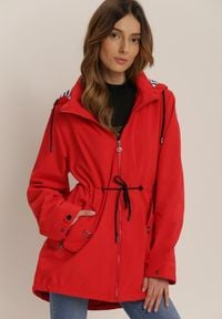Czerwona kurtka Renee