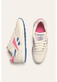Wielokolorowe buty sportowe Reebok Classic z okrągłym noskiem, na obcasie, na średnim obcasie