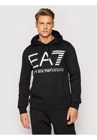 EA7 Emporio Armani Bluza 6KPM69 PJBWZ 1200 Czarny Regular Fit. Kolor: czarny