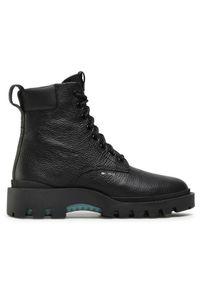 Czarne buty zimowe Coach