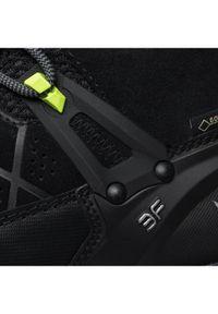 Czarne buty trekkingowe Salewa Gore-Tex, trekkingowe