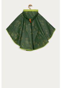 Oliwkowy płaszcz OVS z kapturem