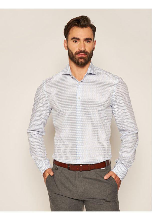 Baldessarini Koszula Henry 10007/000/1000 Niebieski Regular Fit. Kolor: niebieski