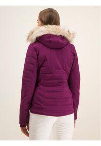 Fioletowa kurtka zimowa Spyder