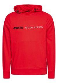 Musto Bluza Evo Logo 82043 Czerwony Regular Fit. Kolor: czerwony #5