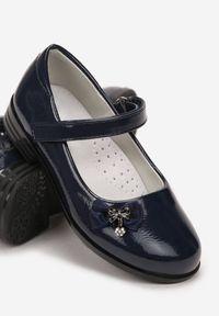 Niebieskie baleriny Born2be