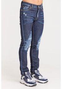 JEANSY PINTURA SLIM FIT John Richmond. Materiał: jeans