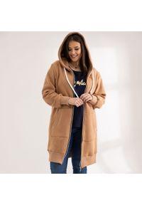 Bluza Moda Size Plus Iwanek krótka, na wiosnę