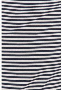 Niebieska bluzka z długim rękawem Lauren Ralph Lauren casualowa, na co dzień, z dekoltem w łódkę