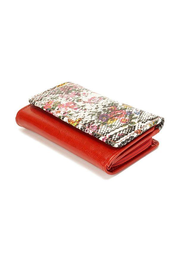 Czerwony portfel Perfekt Plus